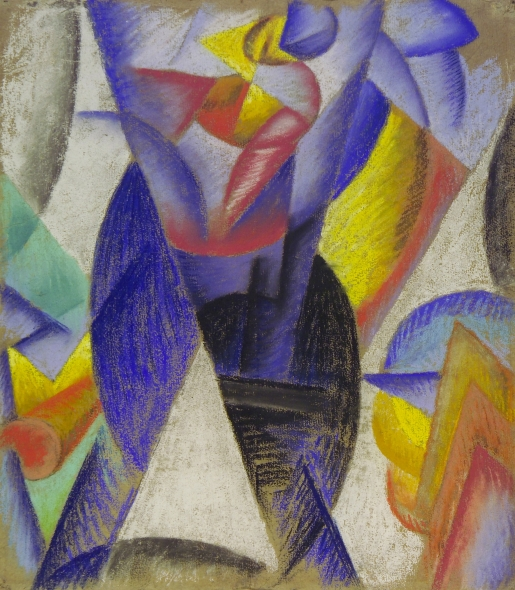 Detail of La Danse de l'ours by Gino Sseverini