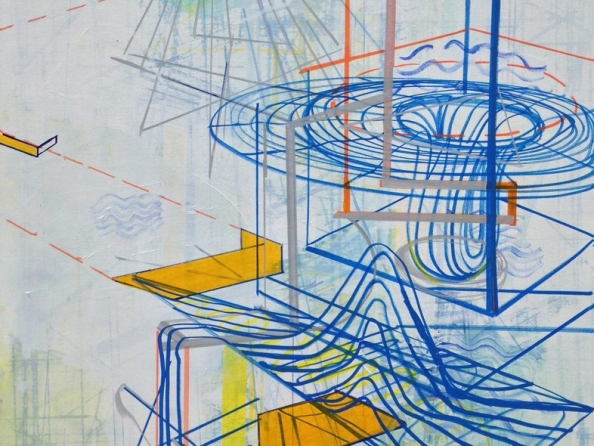 Lorraine Tady | Sparklines: Drawings, Paintings, and Prints