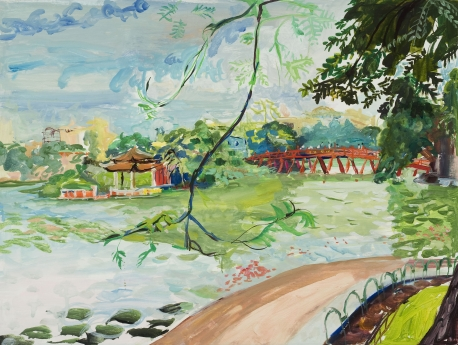 Jane Irish Cochin Chinoiserie Locks Gallery