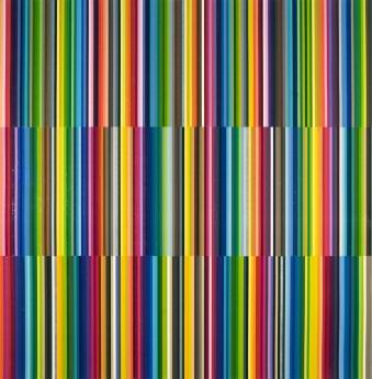 Polly Apfelbaum Locks Gallery Color Notes Rainbow Park 2