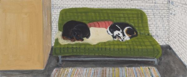 Sarah McEneaney Locks Gallery Drawing