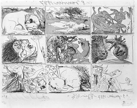 Pablo Picasso Locks Gallery