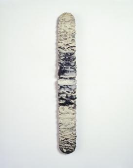 Lynda Benglis wax painting Locks Gallery