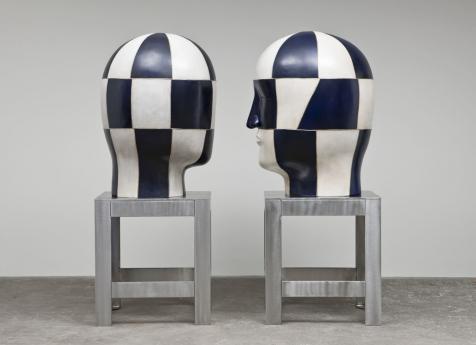 Jun Kaneko Locks Gallery head