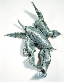 Lynda Benglis Silver Wraith