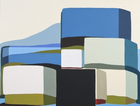 Louise Belcourt Locks Gallery Painting Mound #12