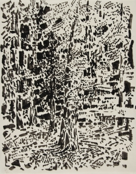 Edna Andrade Locks Gallery Fairmount Park - Big Tree