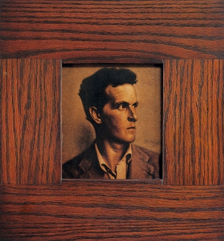 Thomas Chimes Wittgenstein portrait Locks Gallery
