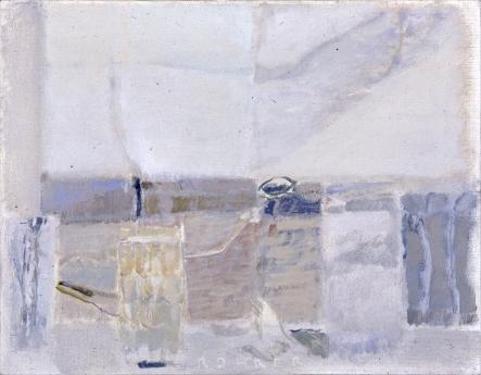 Warren Rohrer locks gallery painting light still life