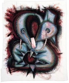 Edition/Addition Locks Gallery Elizabeth Murray Shoe String