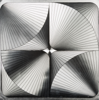 Locks Gallery Edna Andrade Metallic Square 2