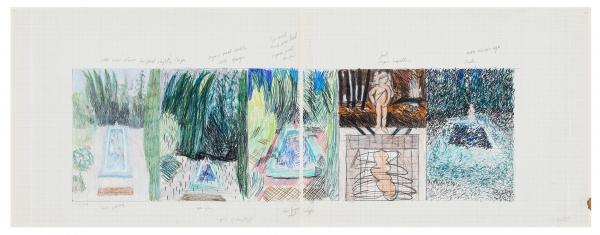 Jennifer Bartlett Locks Gallery In the Garden