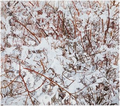 Kate Bright snow painting Locks Gallery