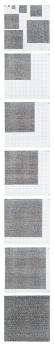 Jennifer Bartlett Locks Gallery Point Line Square Enamel Steel Plates
