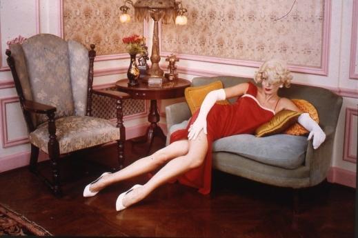 Trudy Adams as Marilyn Monroe, Pasadena, CA