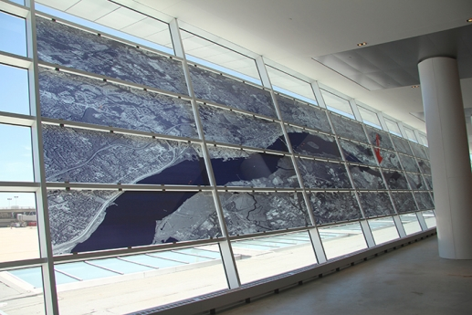 Ellen Harvey commission Locks Gallery