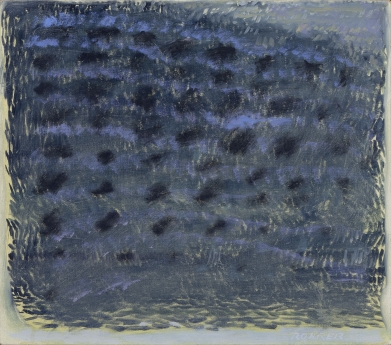 Warren Rohrer locks gallery painting olive grove