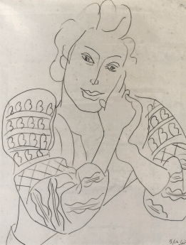 Drawing Locks Gallery Henri Matisse Blouse Romaine