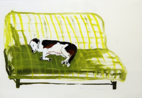 Sarah McEneaney Dog Heaven Locks Gallery