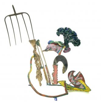 Nancy Graves Locks Gallery Defilade
