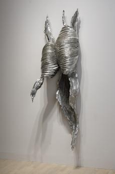 Lynda Benglis shape shifters locks gallery