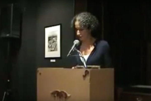 Anne Landsman reading from The Rowing Lesson