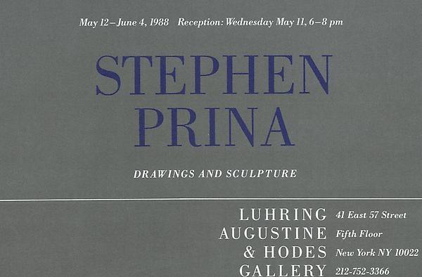Stephen Prina