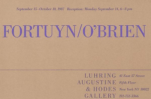 Fortuyn/O'Brien
