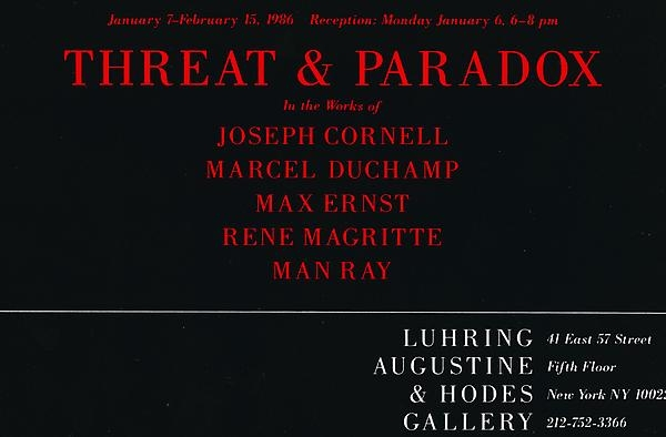 Threat and Paradox
