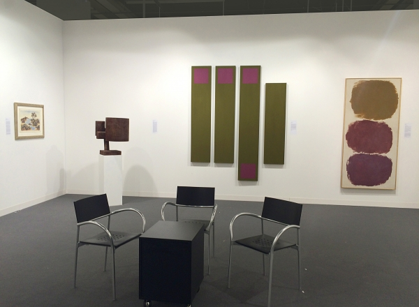 Washburn Gallery Art Basel 2015 installation