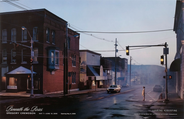 Gregory Crewdson, Beneath the Roses poster, May 7 – June 18, 2005