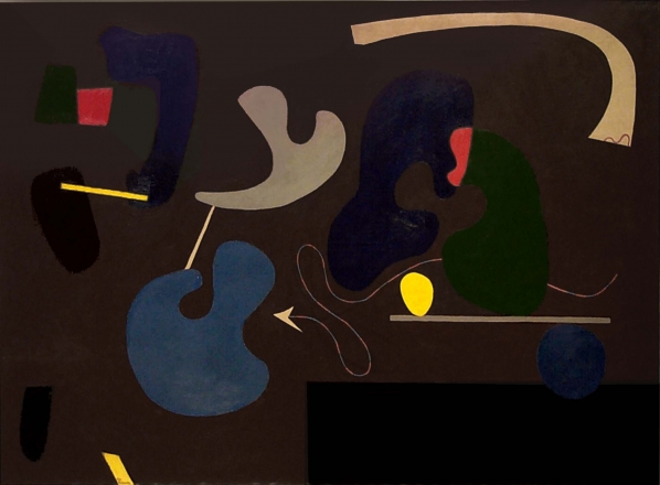 ILYA BOLOTOWSKY (1907-1981)Umber, c. 1938-39, Oil on canvas, 44 x 60 in.