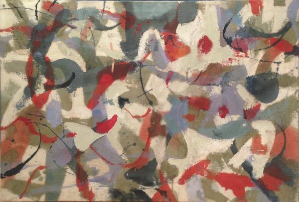 James Brooks painting