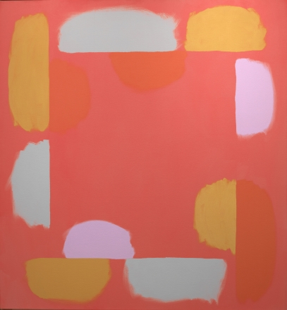 Doug Ohlson, Untitled, c. 1976-77, oil on canvas, 55 x 51 in.