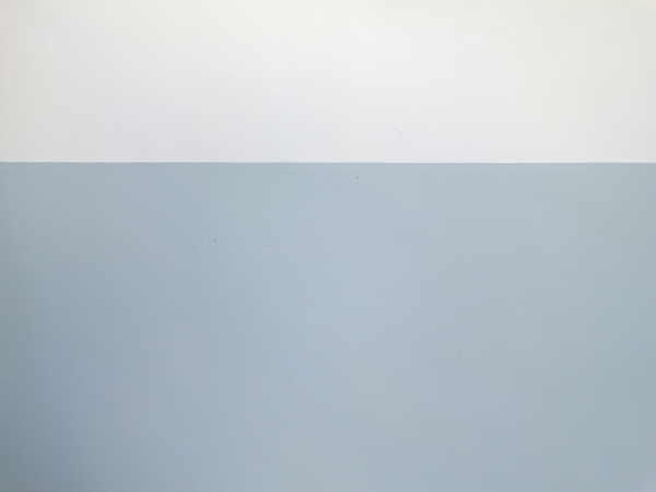"""Untitled"" (Blue Wall) #HIDDEN"