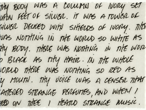 """""""Untitled"""" (Oscar Wilde)"""