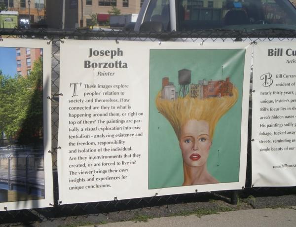 JOSEPH BORZOTTA CHOSEN FOR HOBOKEN MURIAL PROJECT