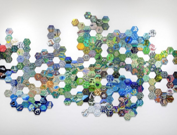 """ON VIEW: """"Anthropocene"""" by Richelle Gribble at Jonathan Ferrara Gallery"""