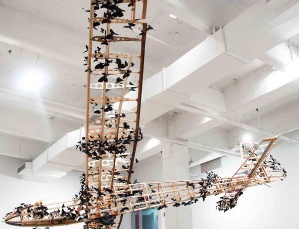 "Paul Villinski's ""Passage"" shown at Blanton Museum of Art"