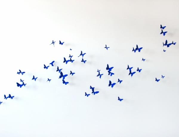 White Plains Hospital installs Paul Villinski's butterflies