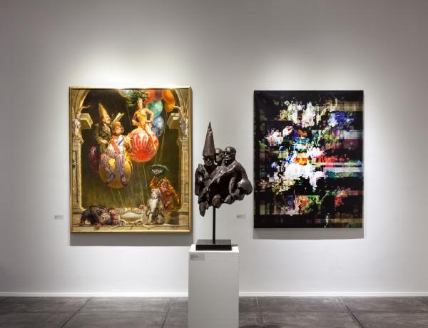 Art in Doom: A Premonitory Exhibition?
