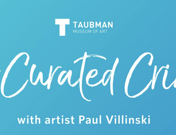 Curated Cribs Featuring Artist Paul Villinski