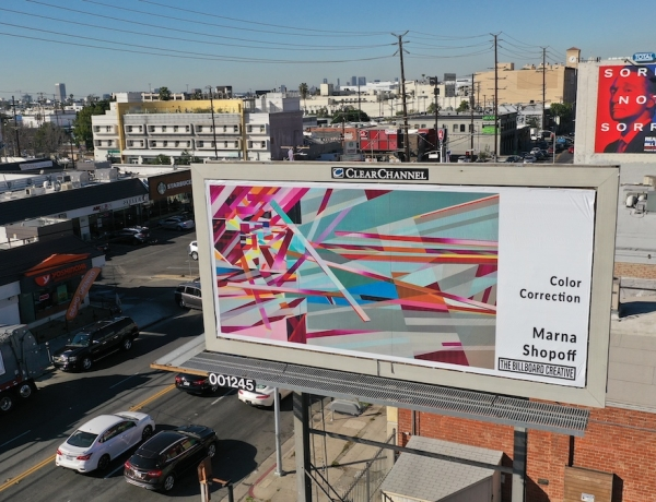 Billboard Creative opens its sixth exhibition - Featuring Marna Shopoff + others
