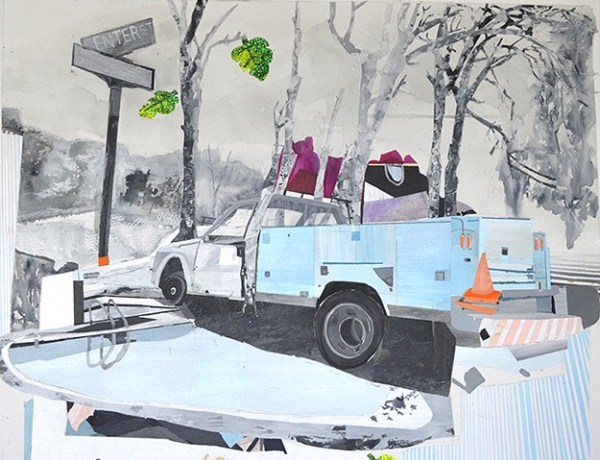 Three Painters, Three Galleries: A spring tour of Sixth Street yields up fractured landscapes, water colors and oils on wood