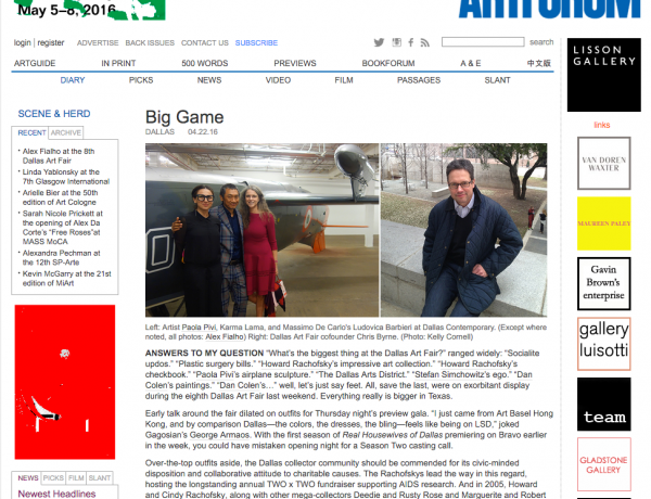 Artforum: Big Game