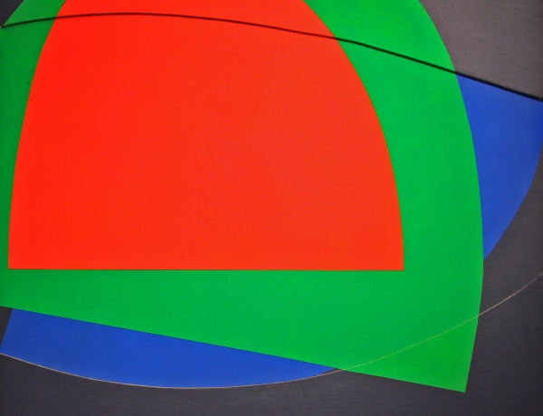 Art Critical - Spatial Dance: Jason Stewart Color Reliefs at Geary Contemporary