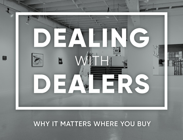 PADA Art Conversations: Dealing with Dealers - Why It Matters Where You Buy