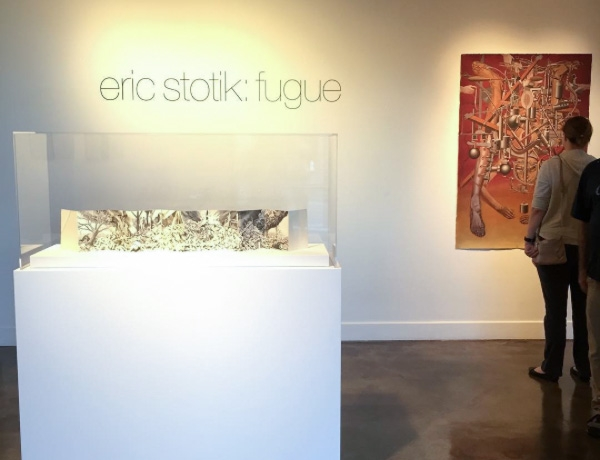 Eric Stotik: Fugue opens at the Ronna and Eric Hoffman Gallery