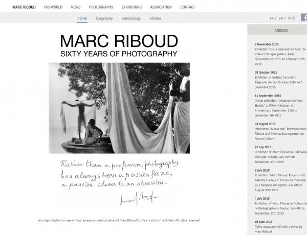 New Marc Riboud Website