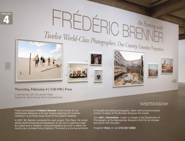 An Evening with Frédéric Brenner